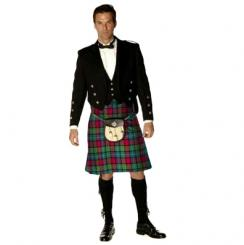 Mens Traditional 8 Yard Heavyweight Nevis Kilt House of Edgar