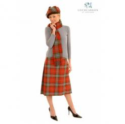 Ladies Tartan Kilted Skirt