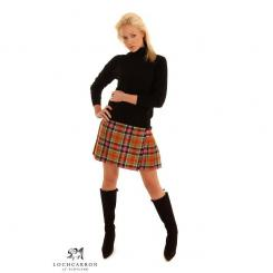 Ladies Tartan Mini Skirt