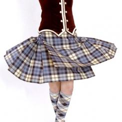 Highland Dance Kilt Nach Mass  9 Yard