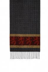 Celtic Lion Red Jacquard Scarf