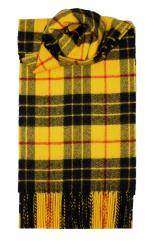 MacLeod Dress Modern Tartan Lambswool Scarf