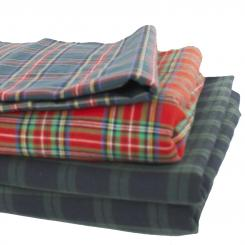 Tartans Stoff Heavyweight House of Edgar Clan