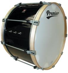 "Premier Pro Series Bass Drum Ebony Black Lacquer 28""x16"""