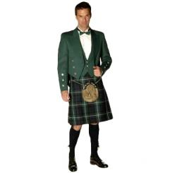 Mens Traditional 8 Yard Regimental Heavyweight Kilt House of Edgar