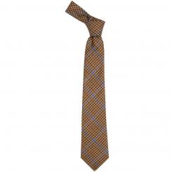 Kyle Check Tweed Wool Tie