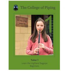 College of Piping Tutor Book 1 Deutsch