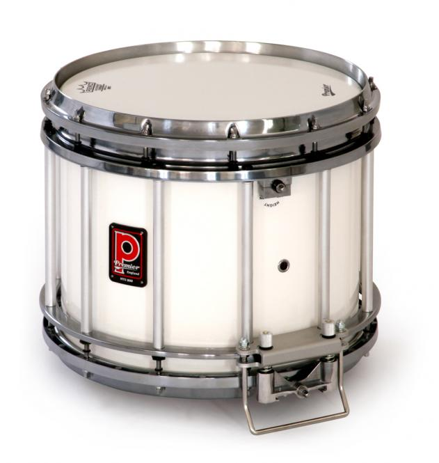 Premier HTS 800 Snare Drum, Ivory White Lacquer(IWC)