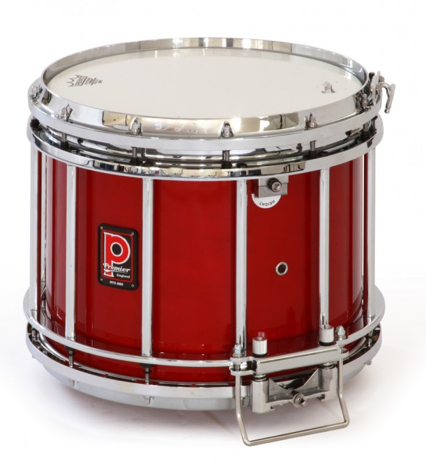 Premier HTS-800 Snare Drum, Flamme Rot Lakiert (RC)